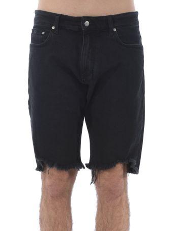 REPRESENT Distressed Denim Shorts
