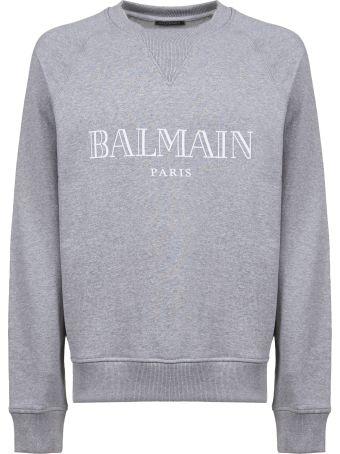 Balmain Logo Printed Sweater