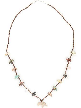 Jessie Western Bear Necklace