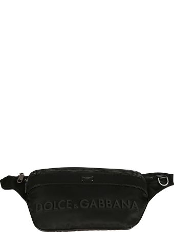 Dolce & Gabbana Logo Embossed Belt Bag