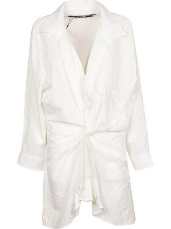 Jacquemus V-front Asymmetric Shirt Dress