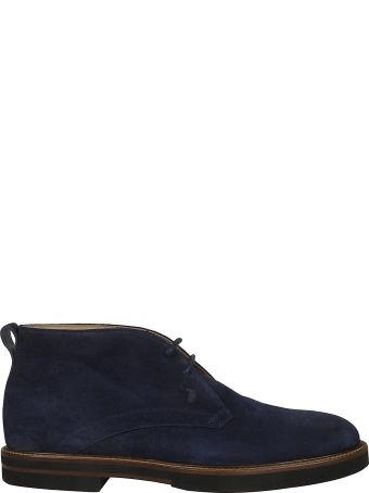 Tod's Classic Laced-up Ankle Boots