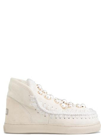 Mou Eskimo Sneaker Pearl Studs