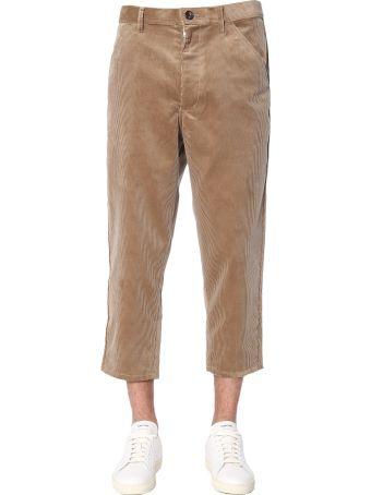 Comme des Garçons Shirt Boy Ribbed Velvet Trousers