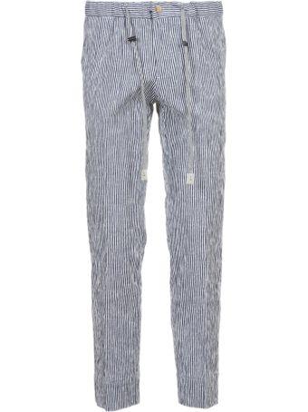 Entre Amis Striped Jeans