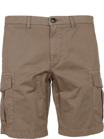 Eleventy Slim-fit Shorts