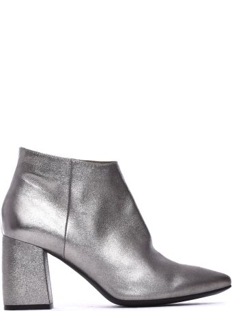 Janet & Janet Meg Silver Ankle Boots