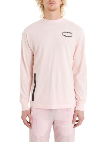 Palm Angels Circle Long Sleeve Tee