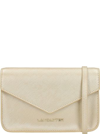 Lancaster Paris Adeline Mini Champagne Saffiano Leather
