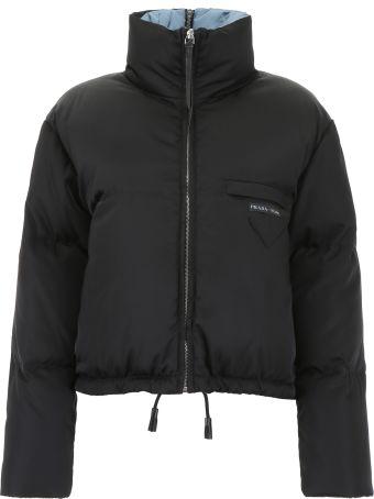Prada Cropped Puffer Jacket