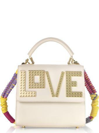 Les Petits Joueurs Mini Alex Golden Love Satchel Bag