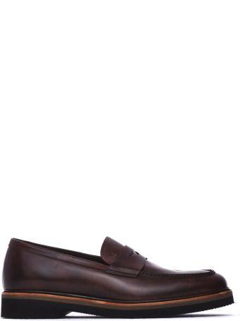Fratelli Rossetti One Ebony Leather Loafer