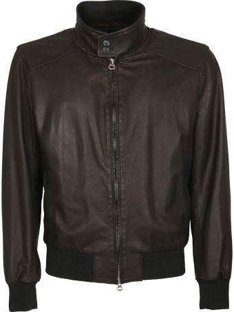 Stewart Archie Slim Leather Jacket