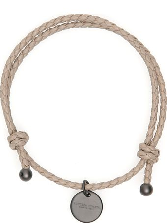 Bottega Veneta Unisex Intrecciato Bracelet With Two Knots