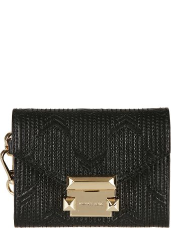 Michael Kors Whitney Deco Quilted Chain Wallet