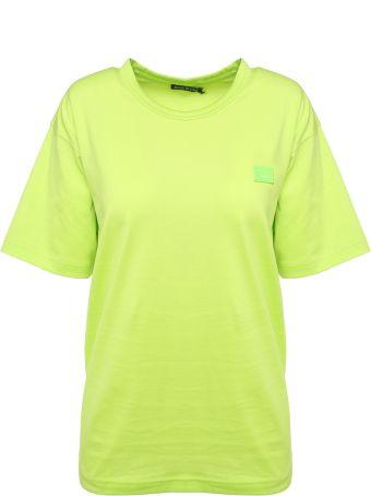 Acne Studios Nash Face Cotton-jersey T-shirt