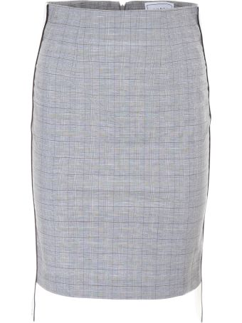 Forte Couture Midi Skirt With Logo