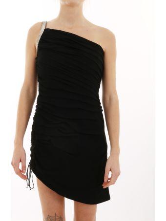 Saint Laurent Black Dress With Strass