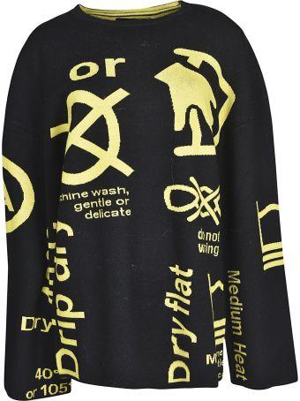 Rokh Print Sweater
