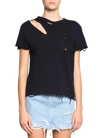 AMIRI Destroyed Cotton T-shirt