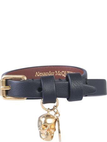 Alexander McQueen Bracelet With Double Turn Lock