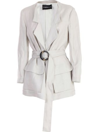 Emporio Armani Jacket W/belts