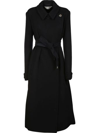 SportMax Bow-tie Belt-wrapped Trench