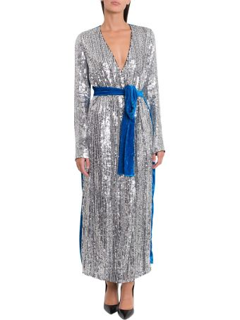 ATTICO Belted Sequin Dress