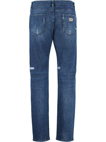 Dolce & Gabbana 5-pocket Slim Fit Jeans