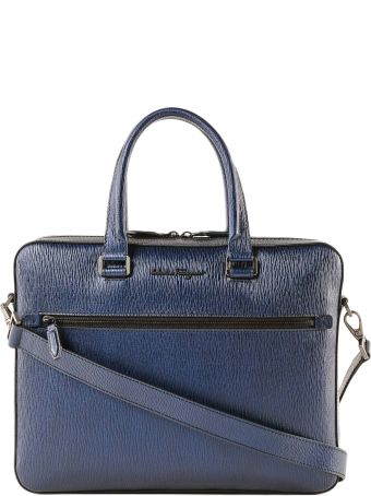 Salvatore Ferragamo Revival Metal Briefcase