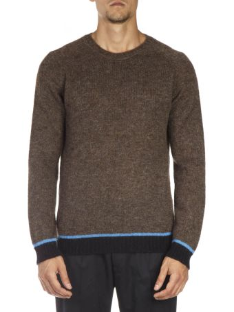 Low Brand Multicolor Wool Sweatshirt