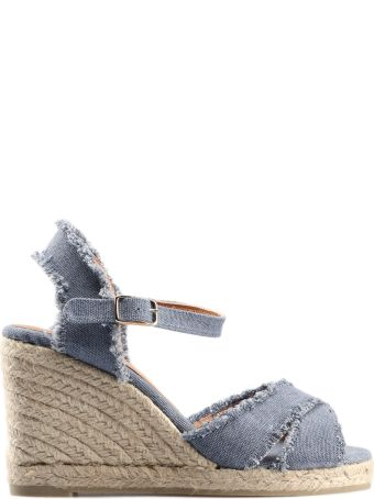 Castañer Frayed Wedge Espadrillas