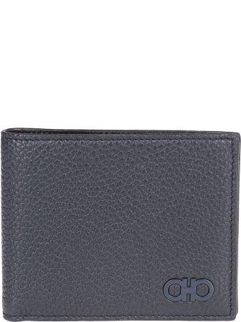 Salvatore Ferragamo Plaque Logo Detail Wallet