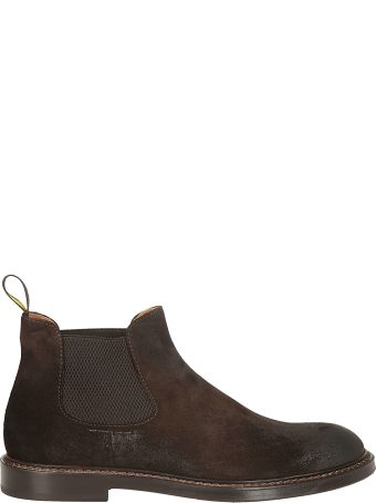 Doucal's Pull Tab Rear Ankle Boots
