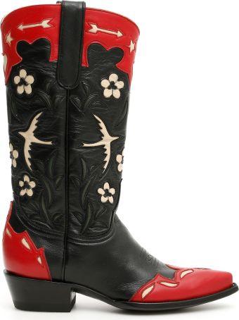 Jessie Western Bird Cowboy Boots