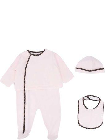 Fendi Three-piece Baby Set