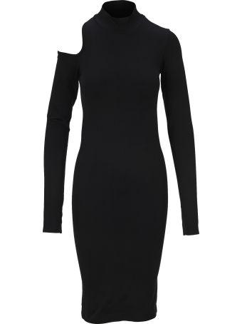 Helmut Lang Cut Out Dress