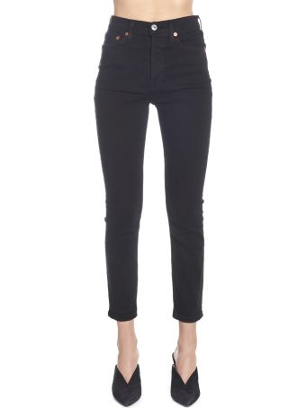 RE/DONE 'high Rise Ankle Crop' Jeans