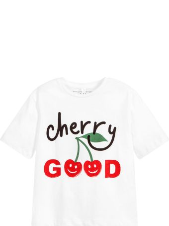 Stella McCartney Kids White T-shirt For Boy