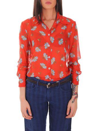 Massimo Alba Red Mias2 Shirt