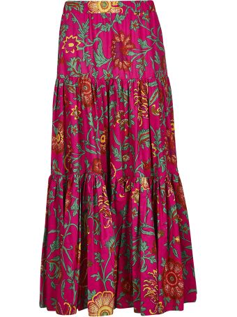 La DoubleJ Geometric Printed Skirt