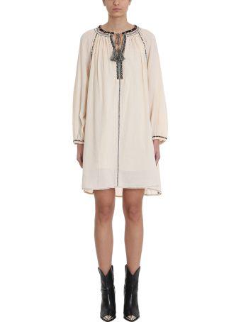 Isabel Marant Étoile Rocky Beige Cotton Dress