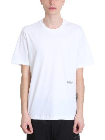 OAMC Se White Cotton T-shirt