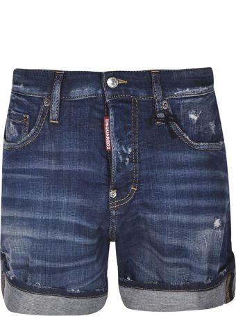 Dsquared2 Wide Denim Shorts