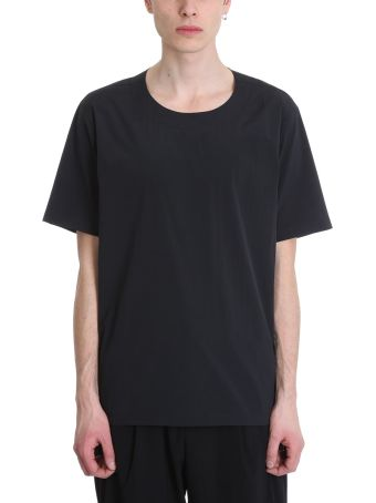 Attachment Black Polyester T-shirt