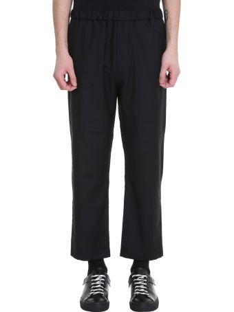 OAMC Drawcord Black Wool Pants