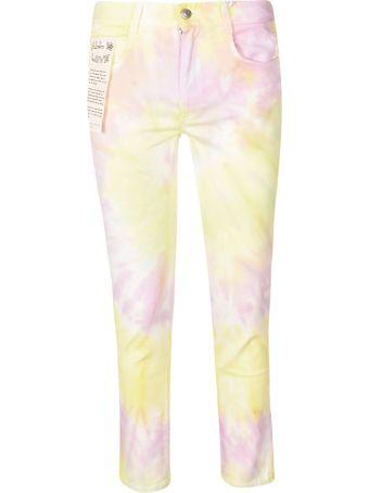 Stella McCartney Tie-dye Print Jeans