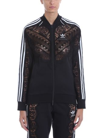 Adidas Originals 3-stripe Lace Jacket Sweatshirt