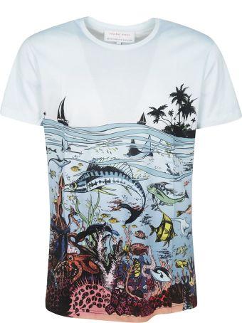 Orlebar Brown Reef Scene Printed T-shirt