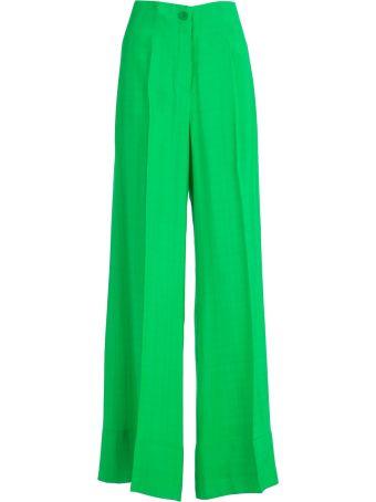 SEMICOUTURE Erika Cavallini Straight-leg Trousers